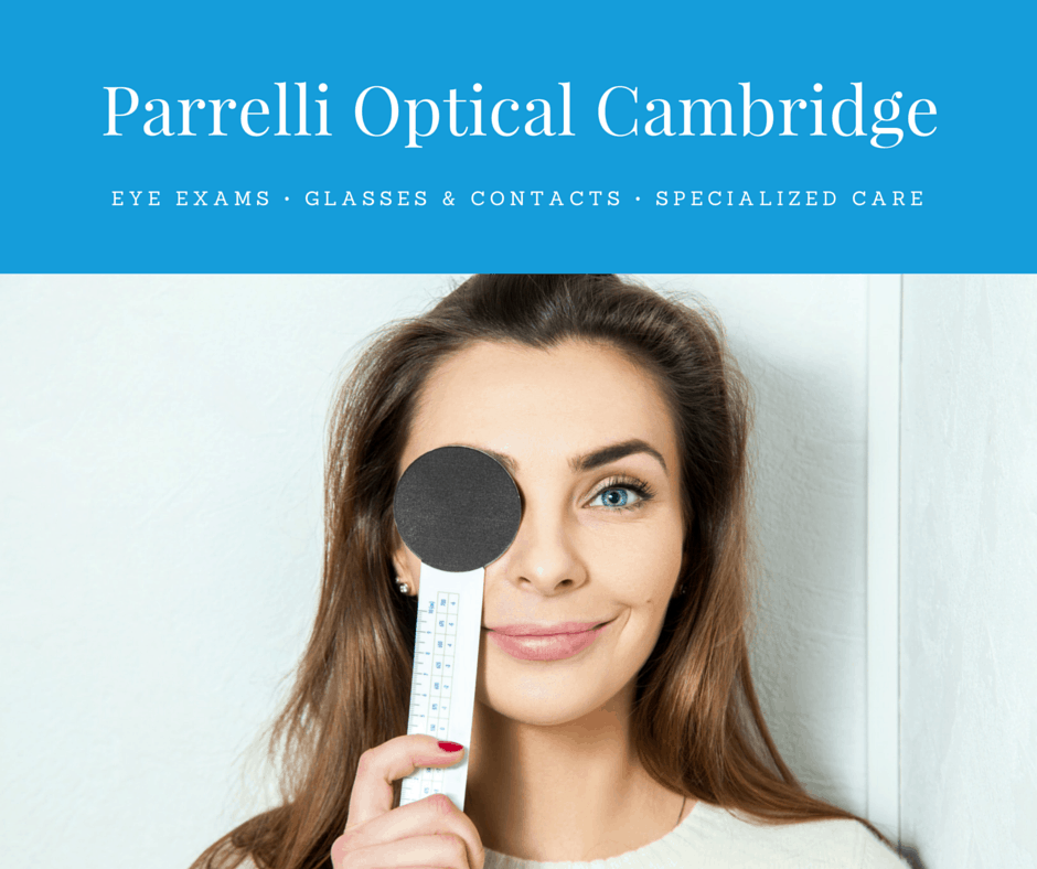 facebook ad for parrelli optical cambridge