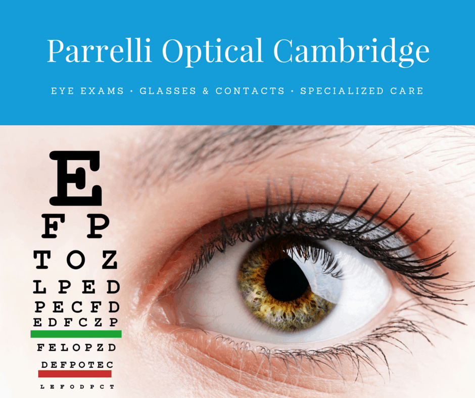 facebook advertisement for parrelli optical cambridge