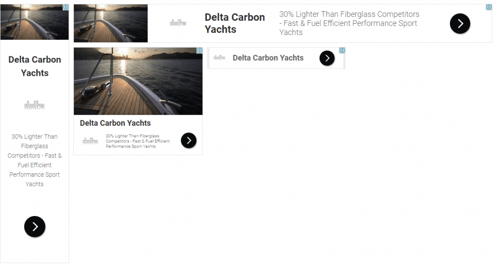 google display advertising delta carbon yacht sales